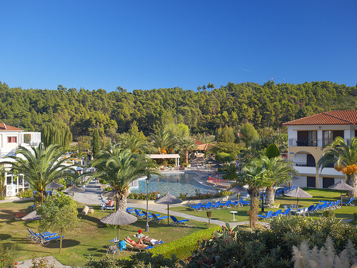 Почивка на Касандра, Гърция - хотел Chrousso Village 4•