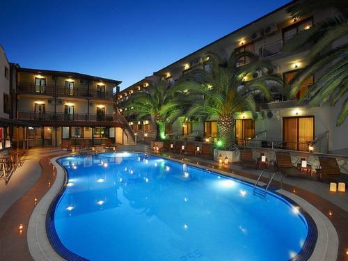 Почивка на Ситония, Гърция - хотел Simeon Hotel 3•