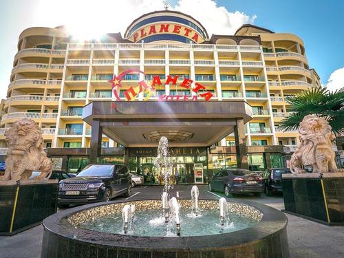 Почивка в Слънчев Бряг, България - хотел Хотел Планета 5•