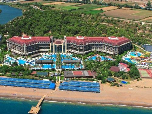 Почивка в Сиде, Турция - Nashira Resort & Spa 5 * хотел 5•