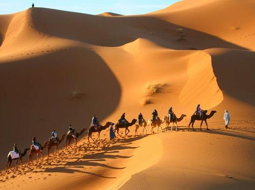 Мароко, пустинята Сахара