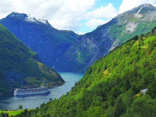 Норвегия и фиордите - група